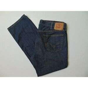 Levis 559 42x32 Relaxed Straight Blue Jeans Denim